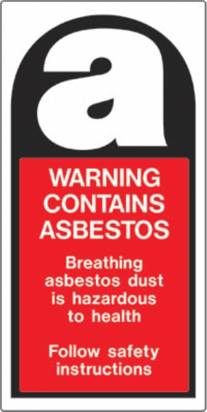 Warning Contains Asbestos Vinyl Safety Labels On Roll as well Warning Contains Asbestos Roll Of 100 Labels 27mm X 50mm Self Adhesive Vinyl further Hazardous Waste Vinyl Labels State Of California furthermore Warning Contains Asbestos Label besides Resuscitator Guard. on warning contains asbestos vinyl safety labels on roll
