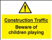 construction traffic beware....