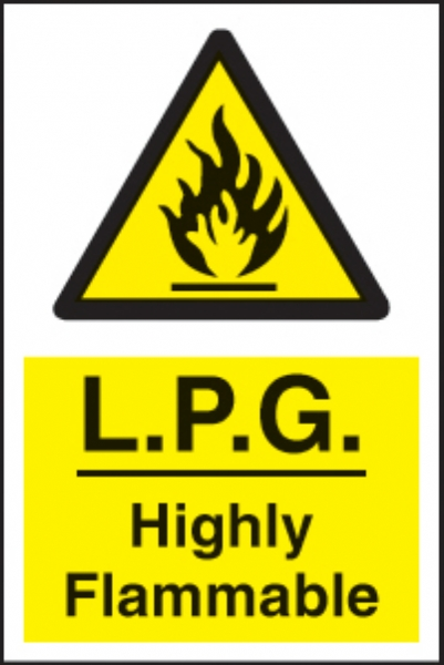 lpg highly flammable