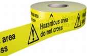 hazardous area do not cross