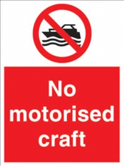 no motorised craft