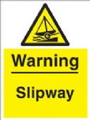 warning - slipway