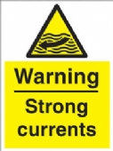 warning - strong currents