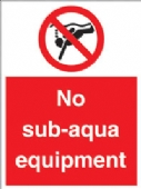 no sub aqua equipment