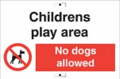 childrens play area no dogs