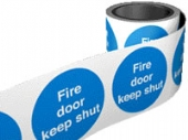 fire door on a roll