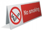no smoking desk top x4