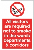 all visitors are required not to smoke