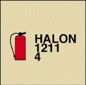 portable fire extinguisher halon-1211-4