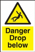 danger drop below