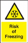 risk of freezing