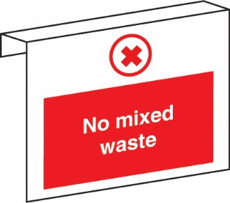 No mixed waste