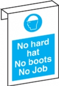 no hard hat no boots no job