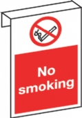 hook sign no smoking