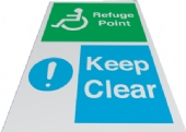 refuge point - keep clear