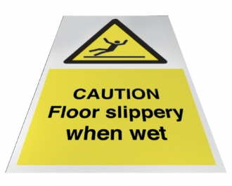 caution floor slippery