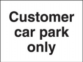 customer car park only