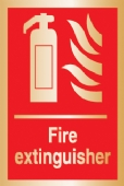 fire extinguisher (Brushed Aluminium)