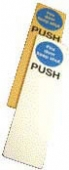 push - fire door keep shut