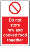 do not store raw