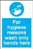 for hygiene reasons wash only