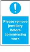 please remove all jewellery