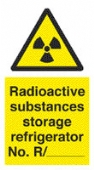 radioactive substances - storage refridgerator