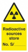 radioactive sources - store