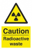 caution - radioactive waste