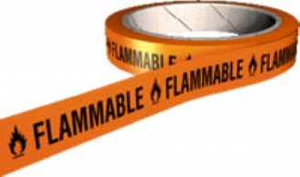 flammable tape