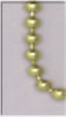 plated ball chain 1m
