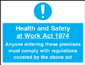 health & safety at work act 1975
