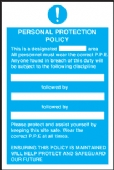 personal protection policy