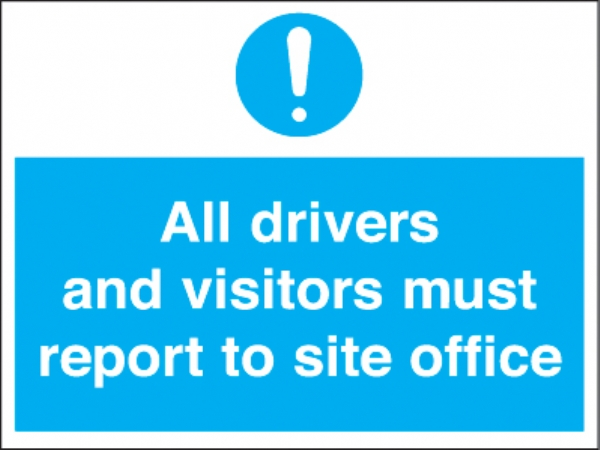 all drivers & visitors site office