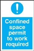 confined space permit to work