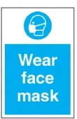 wear facemask