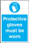 protective glove must be worn