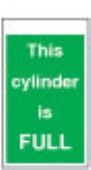 This cylinder is full