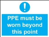 ppe must be worn beyond