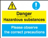 danger hazardous/correct