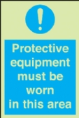 protective equipment must be worn etc