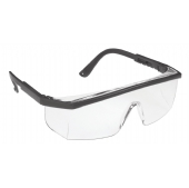 Portwest PW33 Classic Clear Safety Glasses & Cord - Anti Scratch Lens