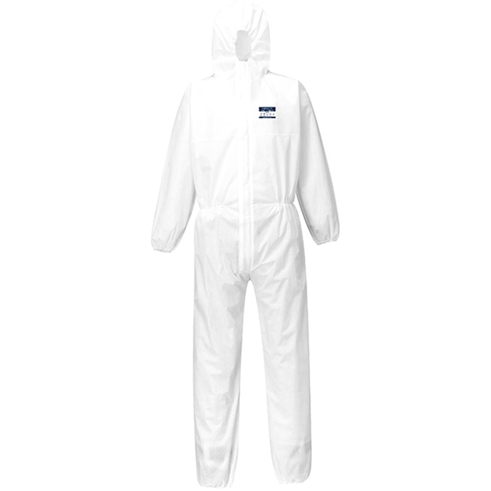 Portwest ST30 Biztex Disposable Coverall Type 5/6