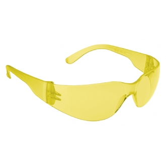 JSP Stealth 7000 Safety Glasses - Yellow Extreme Anti-Scratch Hardia+ UV Lens