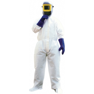 Portwest ST80 Biztex Flame Retardant SMS Disposable Coverall Type 5/6