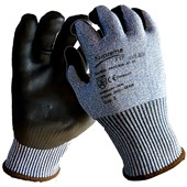 Supreme Cut F Cut Resistant Grip Glove with Foamed Nitrile Coating - Cut Resistant Level F (Cut 5)