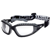 Bolle Tracker TRACPSI Clear Safety Glasses - Anti Scratch & Anti Fog Platinum Lens