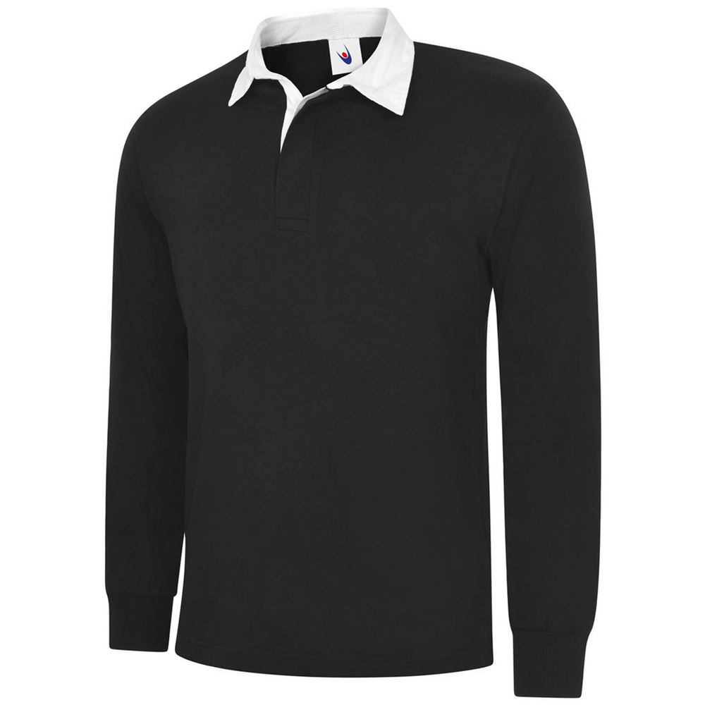 Uneek UC402 Classic Rugby Shirt - 280gsm