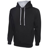 Uneek UC507 Contrast Hooded Workwear Sweatshirt 300g