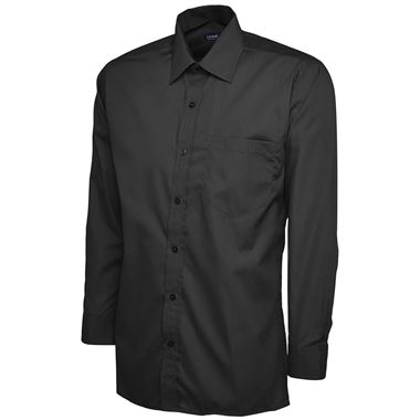 Uneek UC709 Mens Long Sleeve Poplin Shirt